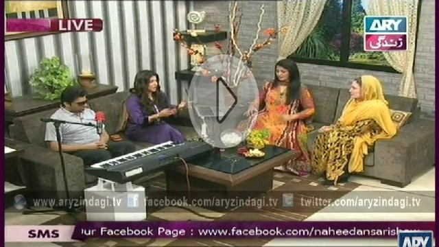Naheed Ansari Show, 12th October 2014, Crispy Pan Cake Roll & Apple Seniman Layered Cake