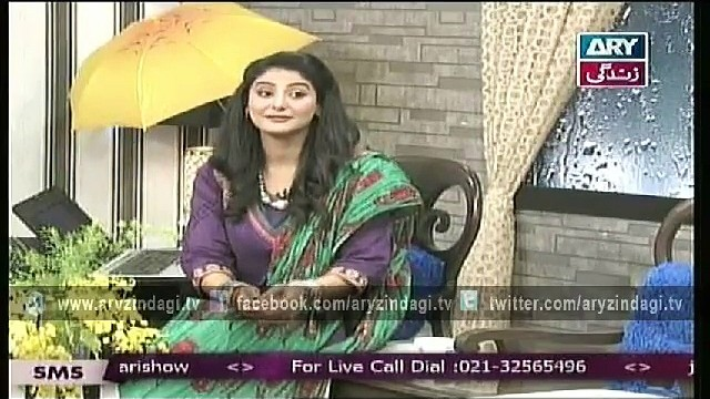 Naheed Ansari Show 14th March 2015