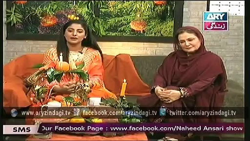 Naheed Ansari Show 1st March 2015