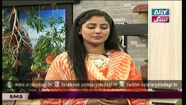 Naheed Ansari Show 29th March 2015