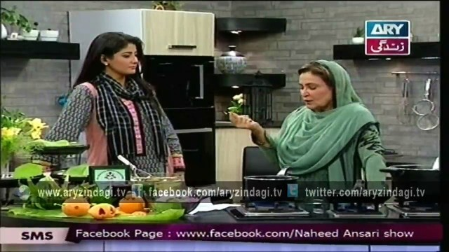 Naheed Ansari Show 26th April 2015