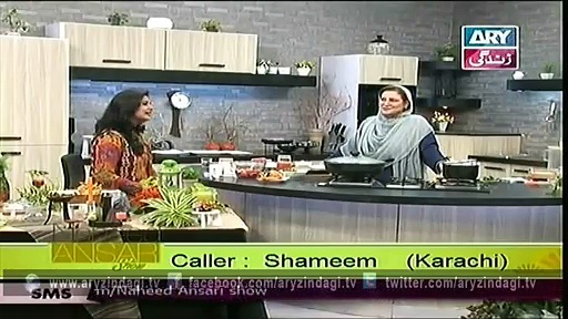 Naheed Ansari Show 23rd May 2015