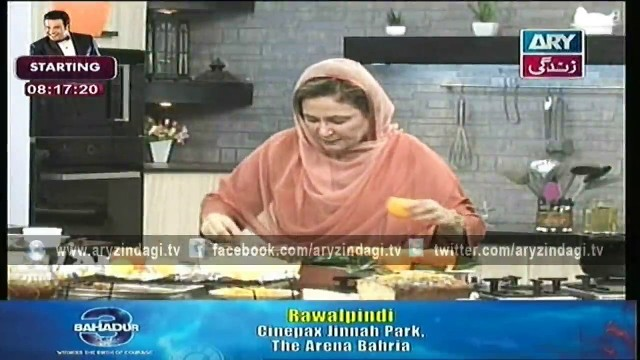 Naheed Ansari Show 9th May 2015