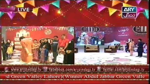 Eidi Sab Ke Liye 9th July 2015