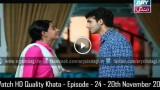 Khata – Episode – 24 – 20th November 2015