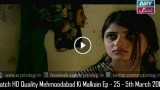 Mehmoodabad Ki Malkain Ep – 25 – 5th March 2016