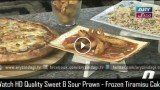Sweet & Sour Prawn – Frozen Tiramisu Cake – Vegetable Fried Rice – Lifestyle Kitchen 10th March 2016
