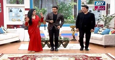 Salam Zindagi With Faysal Qureshi 11th April 2016 Part 1