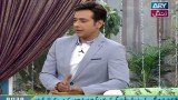 Salam Zindagi With Faysal Qureshi 31st May 2016
