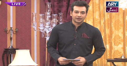 Salam Zindagi With Faysal Qureshi 9th June 2016