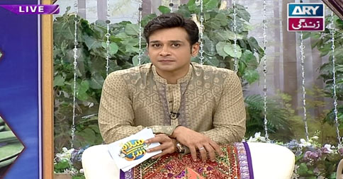 Salam Zindagi With Faysal Qureshi – 26th August 2016