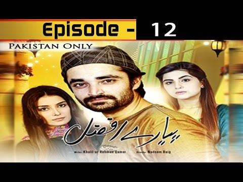 Pyarey Afzal Episode 12 – 25th November 2016