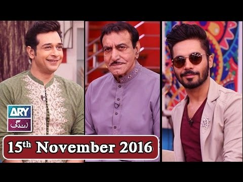 Salam Zindagi With Faysal Qureshi – 15th November 2016