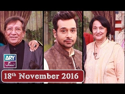 Salam Zindagi With Faysal Qureshi – 18th November 2016