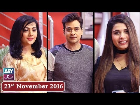 Salam Zindagi With Faysal Qureshi – 23rd November 2016