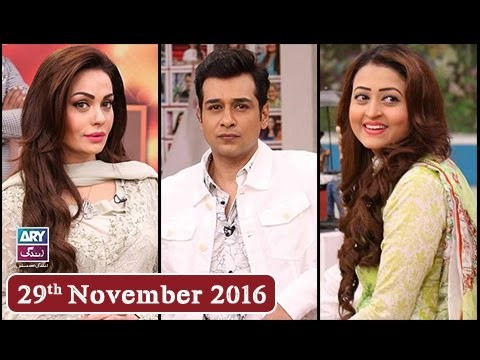 Salam Zindagi With Faysal Qureshi – 29th November 2016