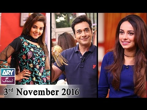 Salam Zindagi With Faysal Qureshi – 3rd November 2016