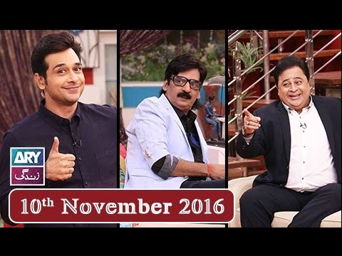 Salam Zindagi With Faysal Qureshi – 10th November 2016