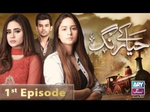 Haya Kay Rang – Episode 01 – 19th December 2016