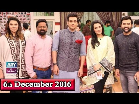 Salam Zindagi With Faysal Qureshi – 6th December 2016