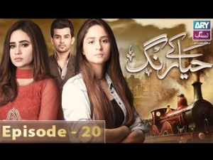Haya Kay Rang – Episode 20 – 19th January 2017