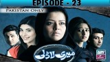 Meri Ladli – Episode 23 – 11th January 2017