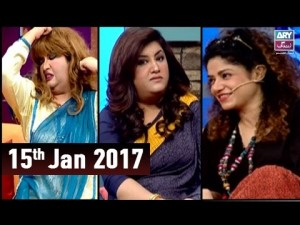 The Hina Dilpazeer Show Guest: Ayoob Khoso & Angeline Malik – 15th January 2017