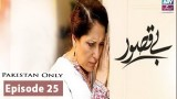 Bay Qasoor – Episode 25 – 5th April 2017