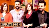 Salam Zindagi With Faysal Qureshi – 3rd April 2017