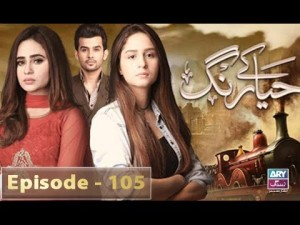 Haya Kay Rang – Episode 105 – 19th June 2017