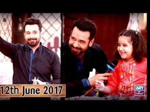 Salam Zindagi With Faysal Qureshi – 12th June 2017
