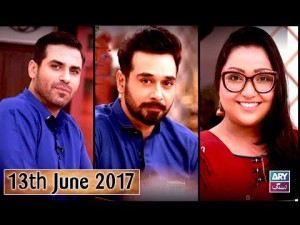 Salam Zindagi With Faysal Qureshi – 13th June 2017