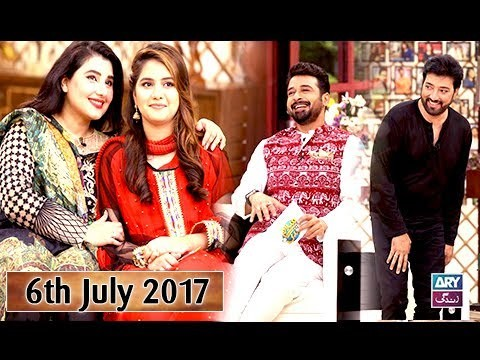 Salam Zindagi With Faysal Qureshi – Guest: Saud & Javeria Saud – 6th July 2017
