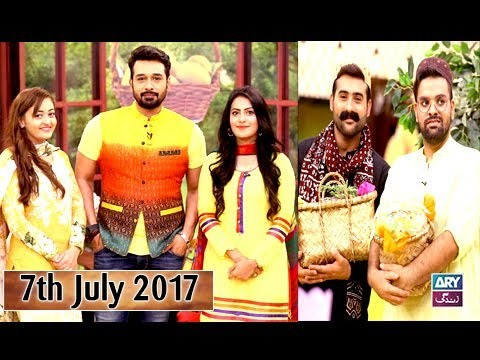 Salam Zindagi With Faysal Qureshi – Guest: Rauf Lala & Nadeem Jafri – 7th July 2017
