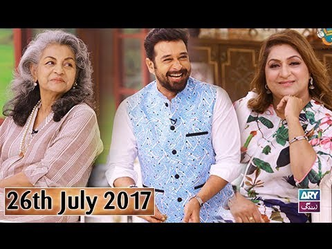 Salam Zindagi With Faysal Qureshi – 26th July 2017