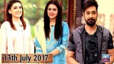 Salam Zindagi With Faysal Qureshi – 13th July 2017