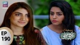 Mere Baba ki Ounchi Haveli – Episode 190 – 8th August 2017