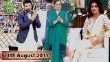Salam Zindagi With Faysal Qureshi – 11th August 2017