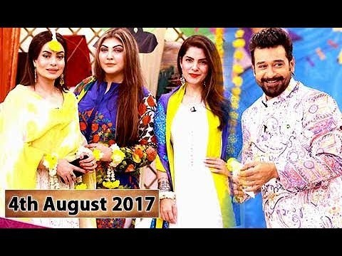 Salam Zindagi With Faysal Qureshi – 4th August 2017