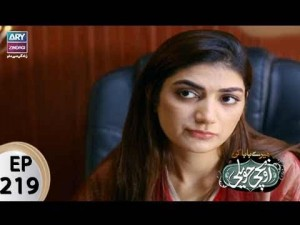 Mere Baba ki Ounchi Haveli – Episode 219 – 28th September 2017