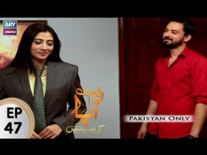 Riffat Aapa Ki Bahuein – Episode 47 – 9th September 2017