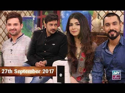 Salam Zindagi With Faysal Qureshi – 27th September 2017