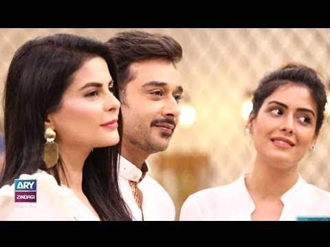 "Faysal Qureshi,Aleezay Rasool & Chef Warda playing ""Rapid Fire"""