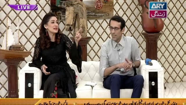 "Faysal Qureshi,Aleezay Rasool & Chef Warda playing "" Tongue Twisters """