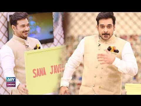 "Faysal Qureshi,Aleezay Rasool & Chef Warda playing ""Guess the Board"""