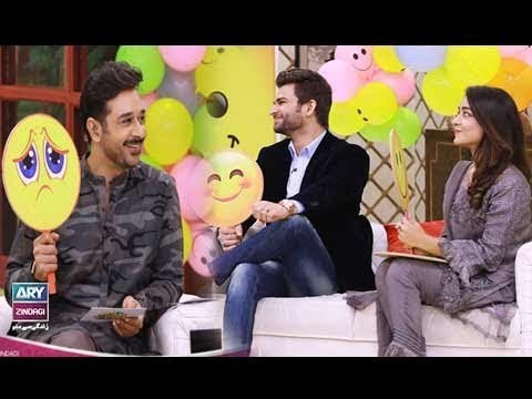"Faysal Qureshi,Benita David & Mizna Waqas playing ""Dukh or Sukh"""