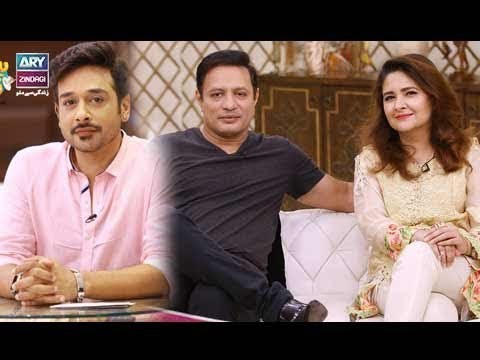 "Faysal Qureshi,Mr Hasan,Faizan & Aadi playing ""Mou Phat"""