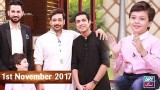 Salam Zindagi With Faysal Qureshi – 1st November 2017