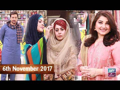 Salam Zindagi With Faysal Qureshi – 6th November 2017