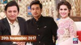 Salam Zindagi With Faysal Qureshi – 20th November 2017